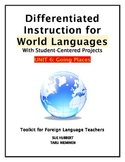 Differentiated Instruction for World Languages-Unit 6: Goi
