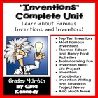 "Differentiated ""Inventions"" Unit, Reading/Writing Activiti"