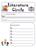 Differentiated Literature Circle Role Sheets