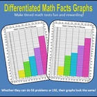 Differentiated Math Facts Graphs