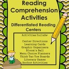 Differentiated Reading Comprehension Literacy Center
