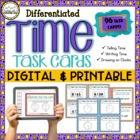 Differentiated Time Task Cards