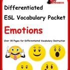 Differentiated Vocabulary Packet for English Language Lear