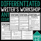 Differentiated Writer's Workshop -- Grades 6-12