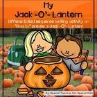 Differentiated Writing Activity-- How to Make a Jack- O- L
