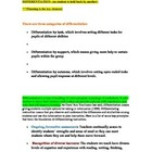 Differentiation and examples