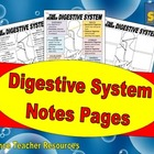 Digestive System Notes Pages