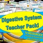 Digestive System Teacher Pack!