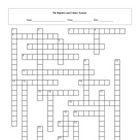 Digestive and Urinary Systems Crossword Puzzle with key