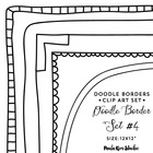 Digital Borders - Frame Border Embellishment - Square