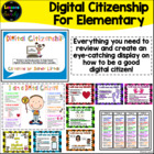 Digital Citizenship with Elementary Students