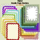 Digital Clip Art Page Borders