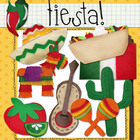 Digital Felt Art: Fiesta
