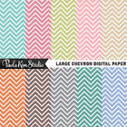 Digital Images - Chevron Pattern Backgrounds
