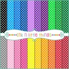 Digital Papers - Colorful Mini Dots Backgrounds