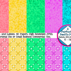 Digital Papers ~ Pretty Dots and Lattice Backgrounds