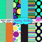 Digital Papers - Tooty Fruity