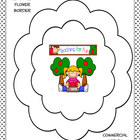 Digital Stamp Flower Borders Freebie PU and CU OK