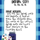 Digraph Sort {ch, sh, tch, th}