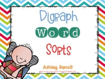 Digraph Word Sort Fun {6 Centers}