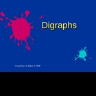 Digraphs Power Point Presentation