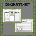 Dino Fact Sheets research