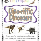 Dino-riffic Dinosaur Literacy Unit