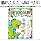 Dinosaur Alphabet Match