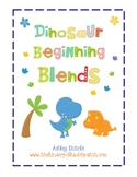 Dinosaur Beginning Blends(sl, fl, pl, cl)