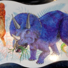 Dinosaur Bulletin Board Border ~ Laminated ~ LIke NEW