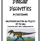 Dinosaur Discoveries, by G. Gibbons, Comp. Questions and P
