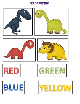 Dinosaur Kindergarten and Pre-K Activity Pack