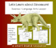 Dinosaur Lang Arts & Science Unit SmartBoard Lessons Prima