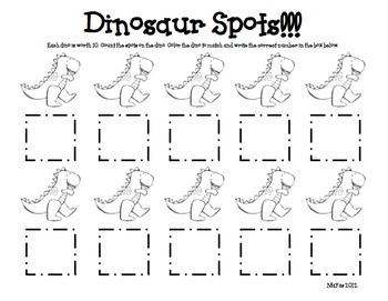 Dinosaur Math & Literacy Fun!