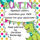 Dinosaur / Prehistoric Themed Buntings- Customize Your Own