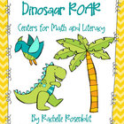 Dinosaur ROAR - Prehistoric Centers for Math and Literacy