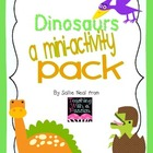 Dinosaur Themed Mini Literacy Activity Pack