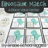 Dinosaur Themed Place Value Matching Cards