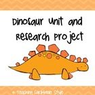 Dinosaur Unit and Research Project