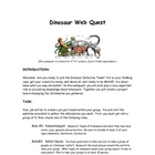 Dinosaur Webquest (2-3 days)