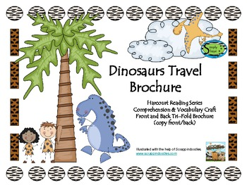 Dinosaurs Travel Brochure