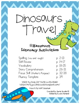 Dinosaurs Travel (Harcourt)