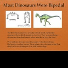 Dinosaurs Vol 2: First Dinosaurs - Slideshow Powerpoint Pr