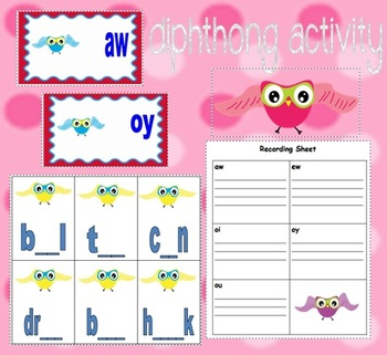 Diphthong Activity