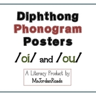 Diphthong Phonogram Posters