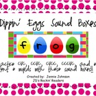 Dippin' Eggs Easter Sound Boxes Freebie