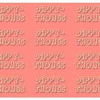 """Dippy Thongs"" Dipthong Card Game"