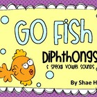 Dipthongs {Go Fish} Word Work [Reading] Station Center Game