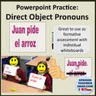 Direct Object Pronoun Practice Spanish