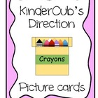 Direction Picture Cards